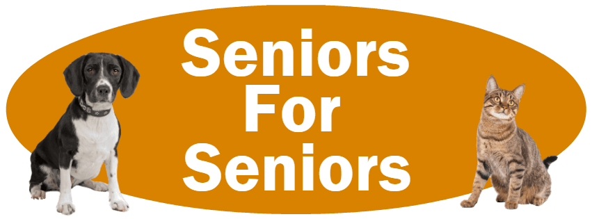 CLICK HERE for more information about our Seniors For Seniors Adoption Program!