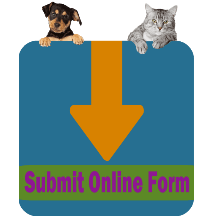 CLICK HERE To Submit An Online Request For Animal Surrender Support