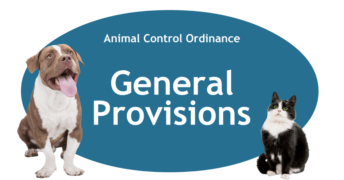 General Provisions Page Banner