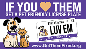 CLICK HERE For More Information About The Pet Friendly License Plate