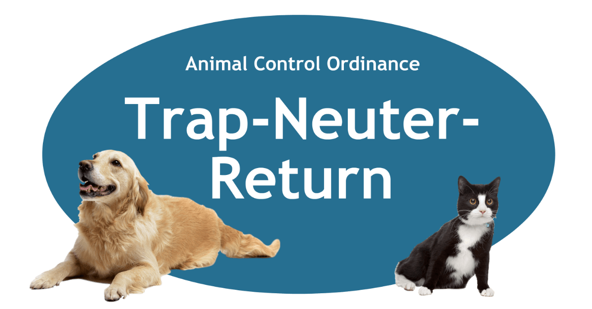 Trap Neuter Return Page Banner