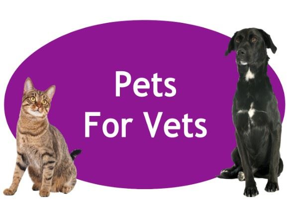 CLICK HERE for more information about our Pets For Vets Adoption Program